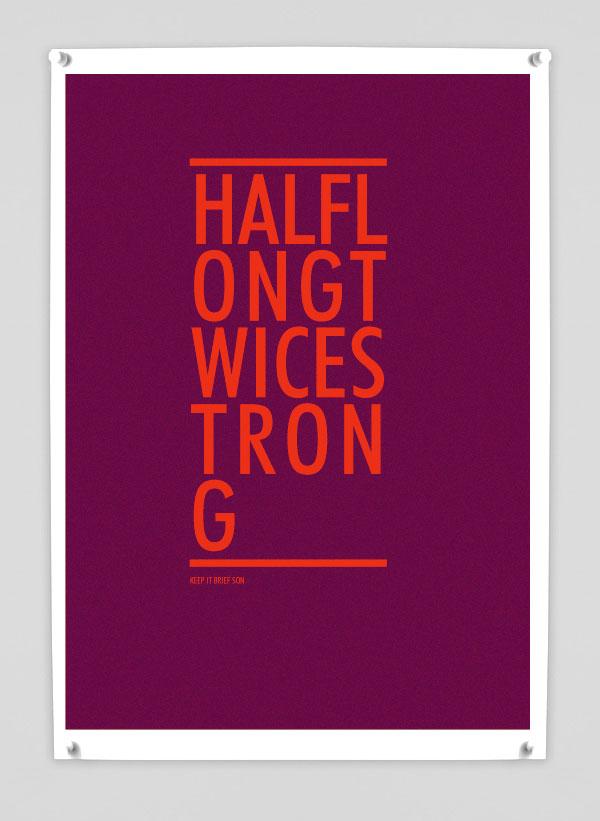 HALF-LOG-TWICE-STRONG